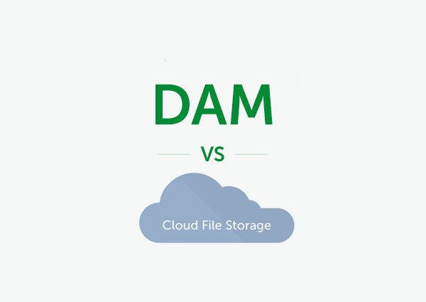 Digital Asset Management vs Cloud File Storage