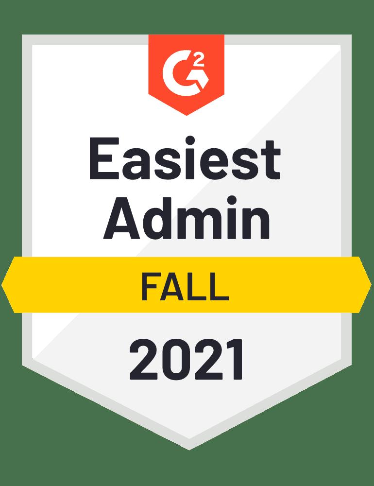 Dash-G2-Fall21-EasiestAdmin