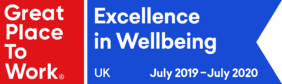 Great Place to Work - Excellence in Wellbeing, 2019-2020