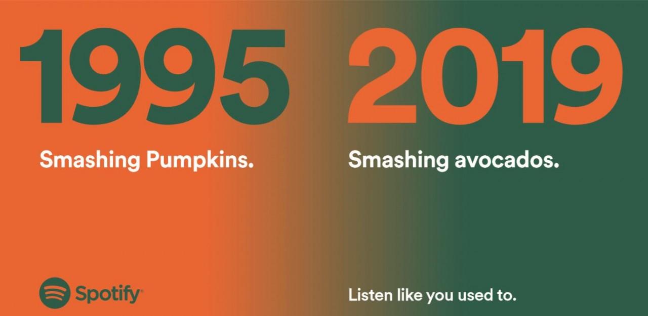 Spotify marketing ad