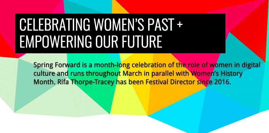 Spring Forward Women Tech festival Brighton 2021