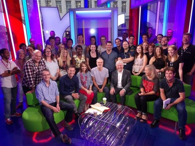 The One Show - Crew Photo