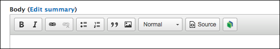Drupal Toolbar