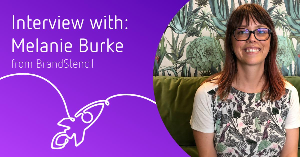 Melanie Burke from BrandStencil