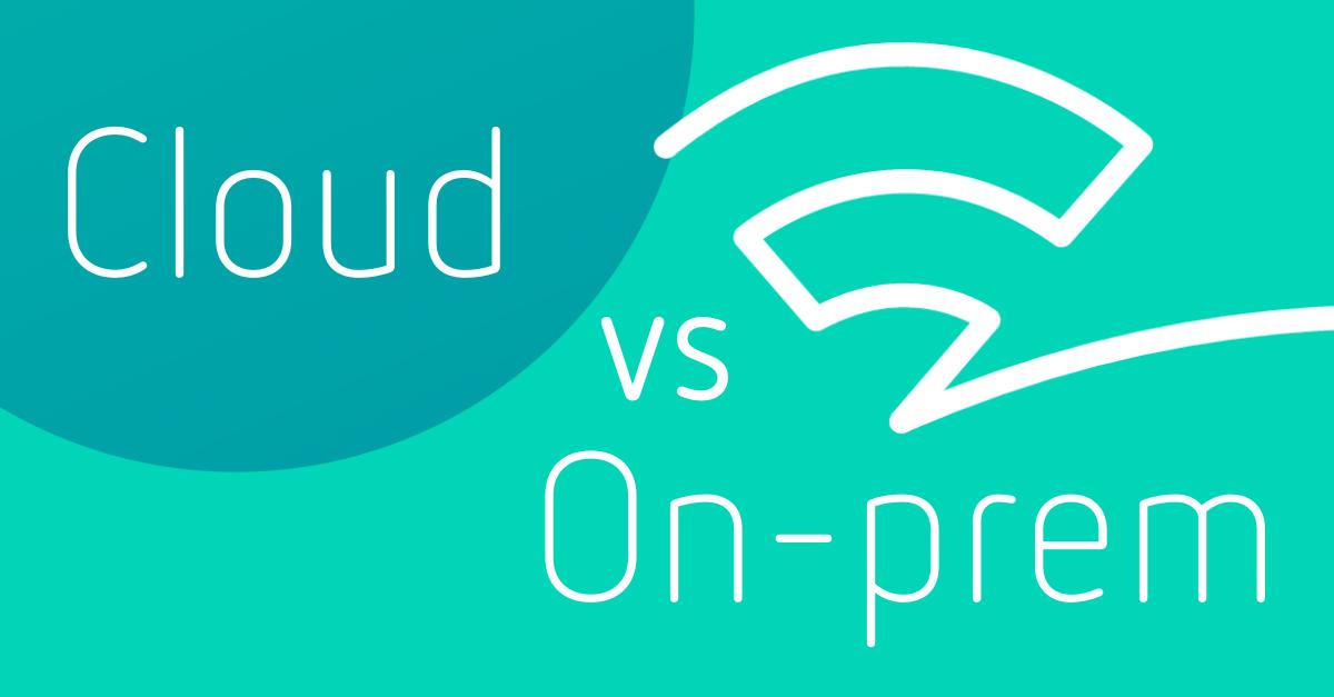 cloud vs on-premise digital asset management solution