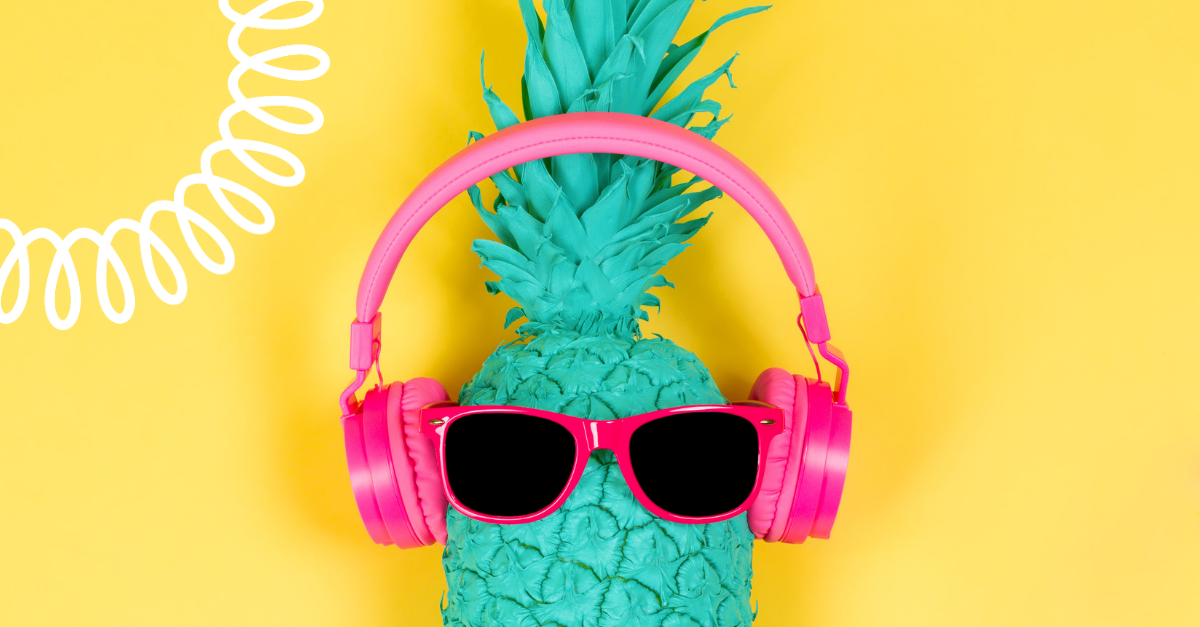 Happy and uplifting podcasts pineapple
